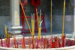 Burning do incenso Fotografia de Stock Royalty Free