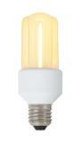 Burning energy saving lamp Stock Photography