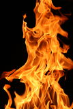 Burning Fire. Flame or fire detail great for background Royalty Free Stock Photo