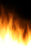 Burning fire background Stock Photography