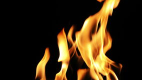 Burning Fire Background Texture stock video