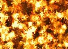 Burning fire backgrounds. Burning big fire backgrounds texture Royalty Free Stock Photography