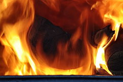 Burning Fire Royalty Free Stock Image