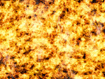 Burning fire flame background Stock Image