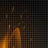Burning fire flames on transparent background. Vector special light effect Stock Photos
