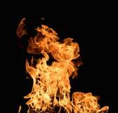 Burning flame Stock Photo