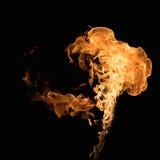 Burning flame Stock Photos