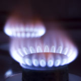 Burning gas Royalty Free Stock Photos