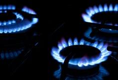 Burning gas Royalty Free Stock Photos