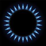Burning gas Stock Photography