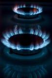 Burning gas Royalty Free Stock Photography
