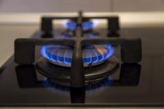 burning gas Fotografering för Bildbyråer