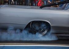 burning gummi Arkivbild
