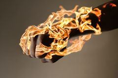 Burning Hand Royalty Free Stock Images