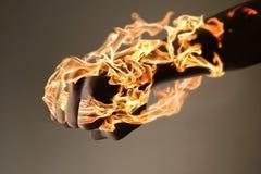 Burning Hand Royalty Free Stock Images