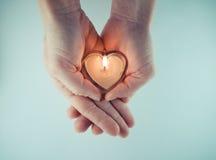 Burning heart Royalty Free Stock Photo