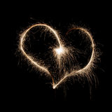 The Burning Heart Royalty Free Stock Photo