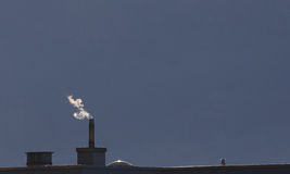 Burning heating oil Stock Image