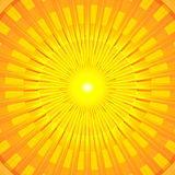 Burning Hot Summer Sun Mandala Stock Photo