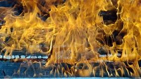 Burning house stock video