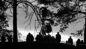 Burning I de MorÄ- Imagen de archivo libre de regalías
