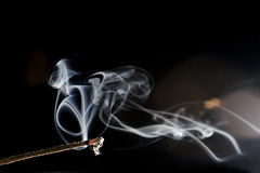 Burning Incense Stock Photos