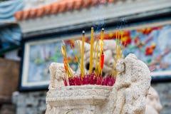 Burning Incense Stock Photo