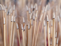 Burning incense sticks Royalty Free Stock Images