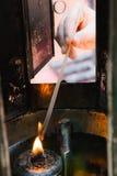 Burning joss stick Royalty Free Stock Photography
