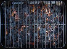 burning kol Royaltyfri Foto
