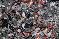 burning kol Royaltyfri Fotografi