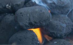 burning kol fotografering för bildbyråer