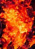 burning kol för bakgrund Fotografering för Bildbyråer