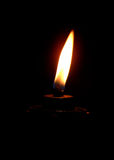 Burning lamp Royalty Free Stock Photo
