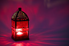 Burning lantern Royalty Free Stock Photo