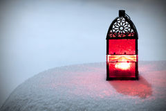 Burning lantern Royalty Free Stock Photography