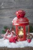 Burning lantern Stock Photography