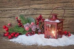 Burning lantern Stock Photo