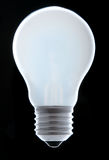 Burning light bulb Royalty Free Stock Image