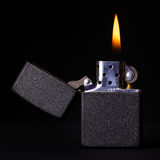 Burning Lighter Royalty Free Stock Photos