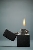 Burning Lighter Stock Images