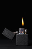 Burning Lighter Royalty Free Stock Images