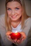 Burning love Stock Photography