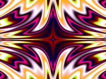 Burning love. Very bright and colorful kaleidoscopic pattern Stock Photo