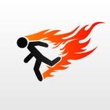 Burning man Royalty Free Stock Photos