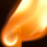 Burning match Royalty Free Stock Photography