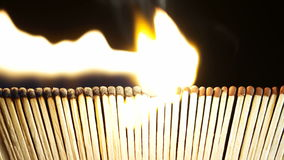 Burning Matches in the Dark