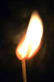 Burning matchstick Royalty Free Stock Photo