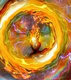 burning mening vektor illustrationer