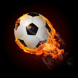 Burning objects and objects on fire background Royalty Free Stock Photography